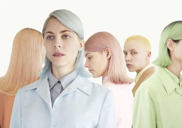 'Moody Girls' es una gama  tintes de pelo en tonos pastel para para resaltar tu  cabello