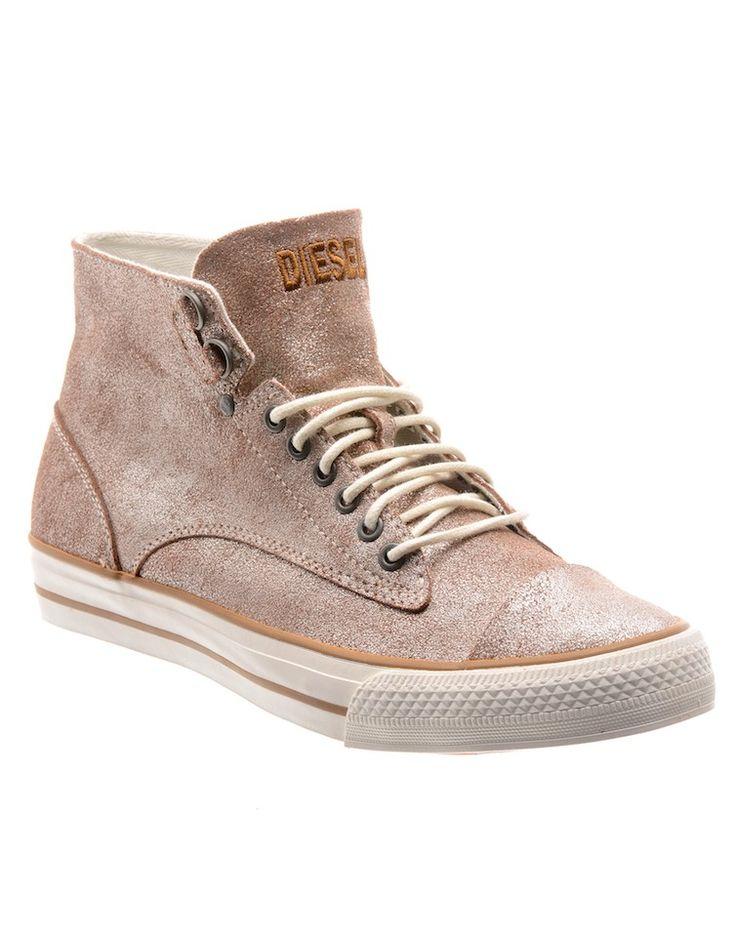 DIESEL   Laika Persis High-Top Sneakers - Women - Style36  #RihannaStyle36