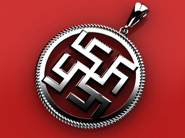 Tsvetok Paporotnika pendant by ovchinnikov_jewelry
