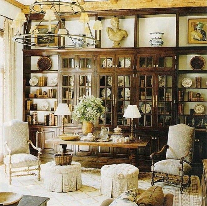 Library Den Atlanta Home Of Interior Designer Peggy: Best 25+ English Living Rooms Ideas On Pinterest