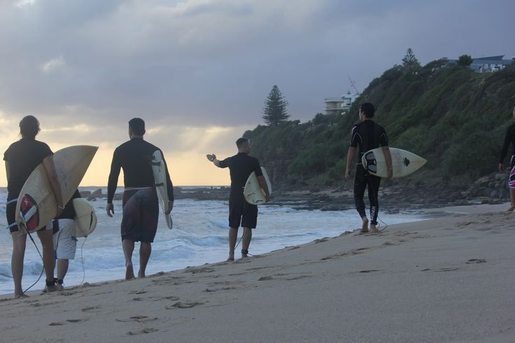 Modest Family Surf Day