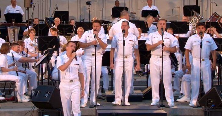 Watch The Absolutely AMAZING Performance By The US Navy Band!