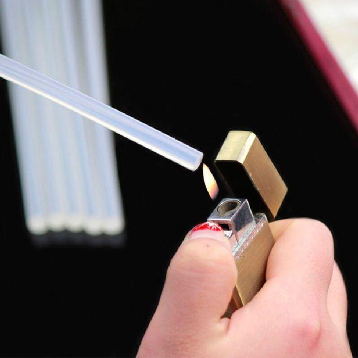 20pcs/lot 11x200mm Power Tools Hot Melt Glue Sticks Hot Melt Adhesive Film Adhesive Stick Fix Items Accessories Glue Stick#sticks