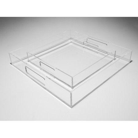 Vassoio exclusive trasparente in plexiglass #plexiglass #vassoio #designtrasparente