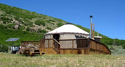 I would love to go camping in a yurt this summer. Looks like so much fun