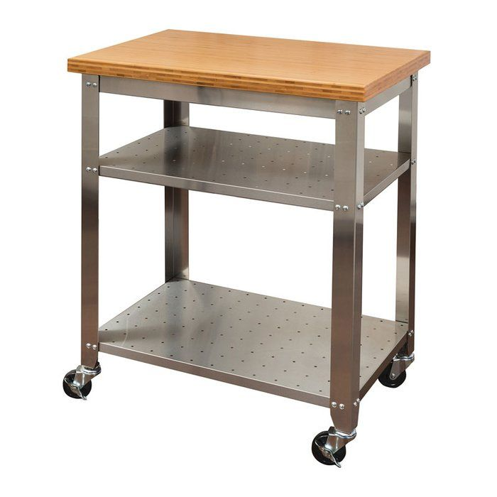 Best 20 stainless steel prep table ideas on pinterest - Commercial kitchen tables on wheels ...