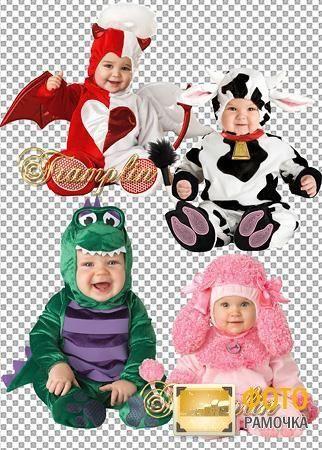 Фоторамки карнавальные костюмы для детей