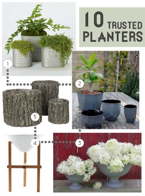 10 Planters to Brighten Your Garden/ Design*Sponge