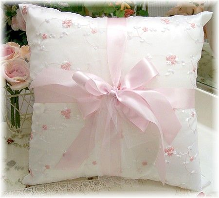 Image 1 of Everyday Romance Silk Organza Pillow