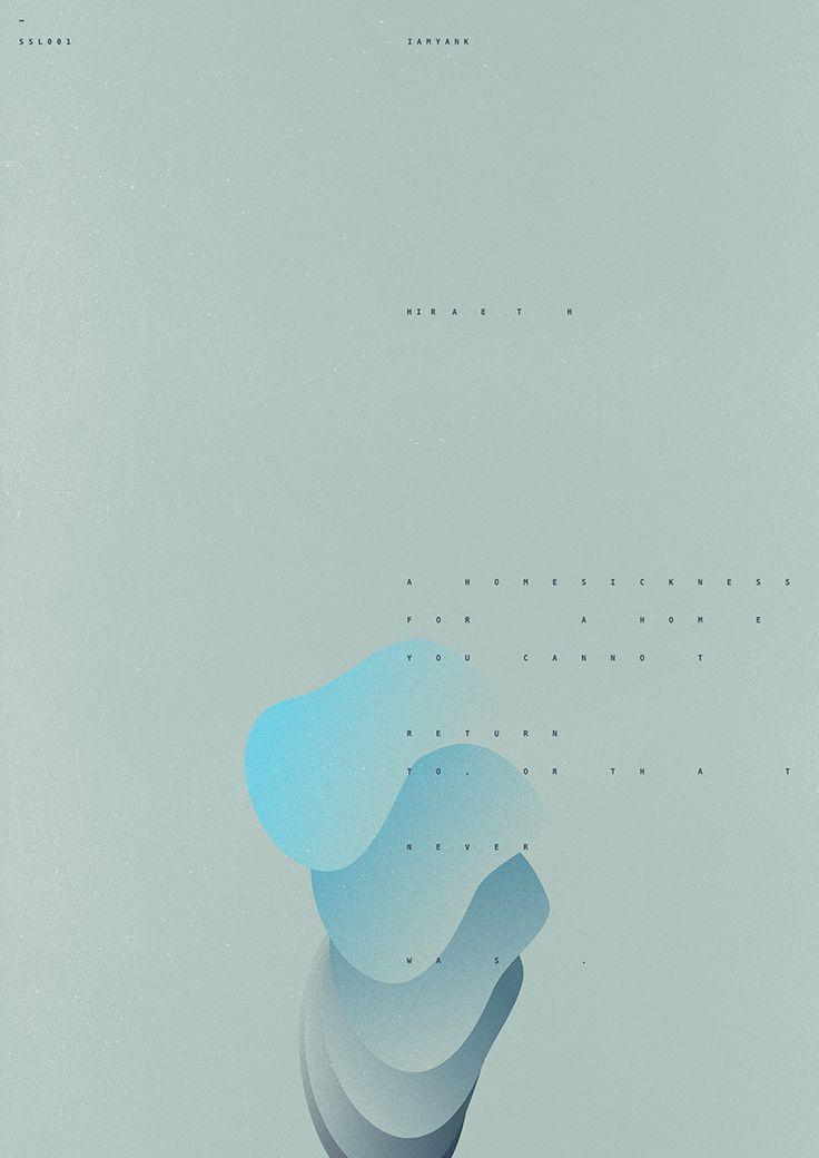 IAMYANK - HIRAETH LP album identity Full project: https://www.behance.net/gallery/38346833/IAMYANK-HIRAETH-LP