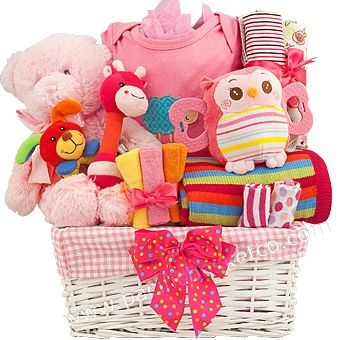 40 best baby gift baskets images on pinterest baby presents playtime baby girl gift basket vancouver negle Image collections