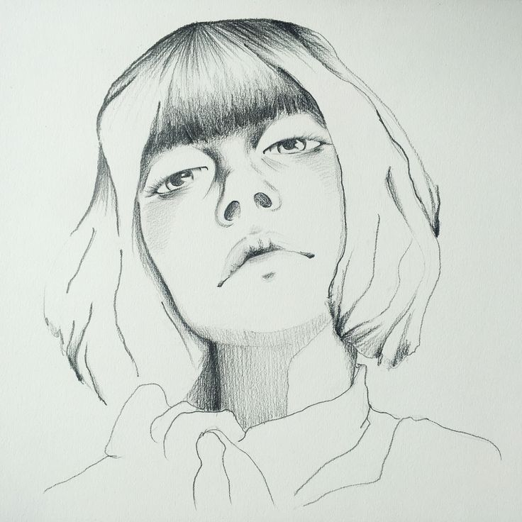 Pencil portrait | Illustration
