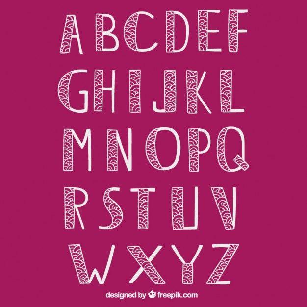 tipografias vintage abecedario - Buscar con Google