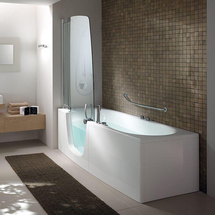 Kombinert badekar og dusjkabinett - ByggeBolig.no