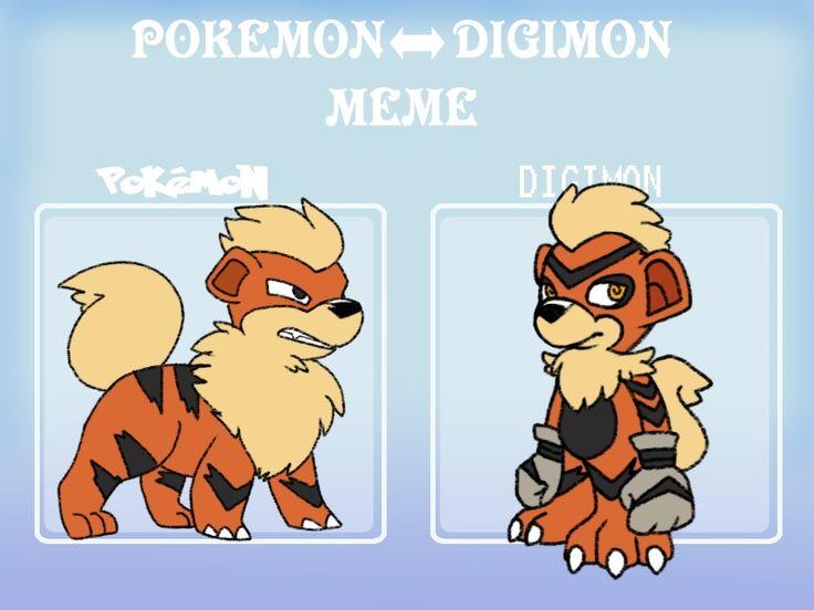 Pokemon to Digimon meme