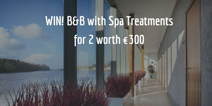 #COMPETITION WIN! B&B with spa treatments for 2 worth €300 at ice house. Enjoy a night's stay for 2 with a Hot Oil Back, Neck and Shoulder Massage each with a delicious breakfast the following morning. To Enter simply Answer the Question via the Link, Good Luck.