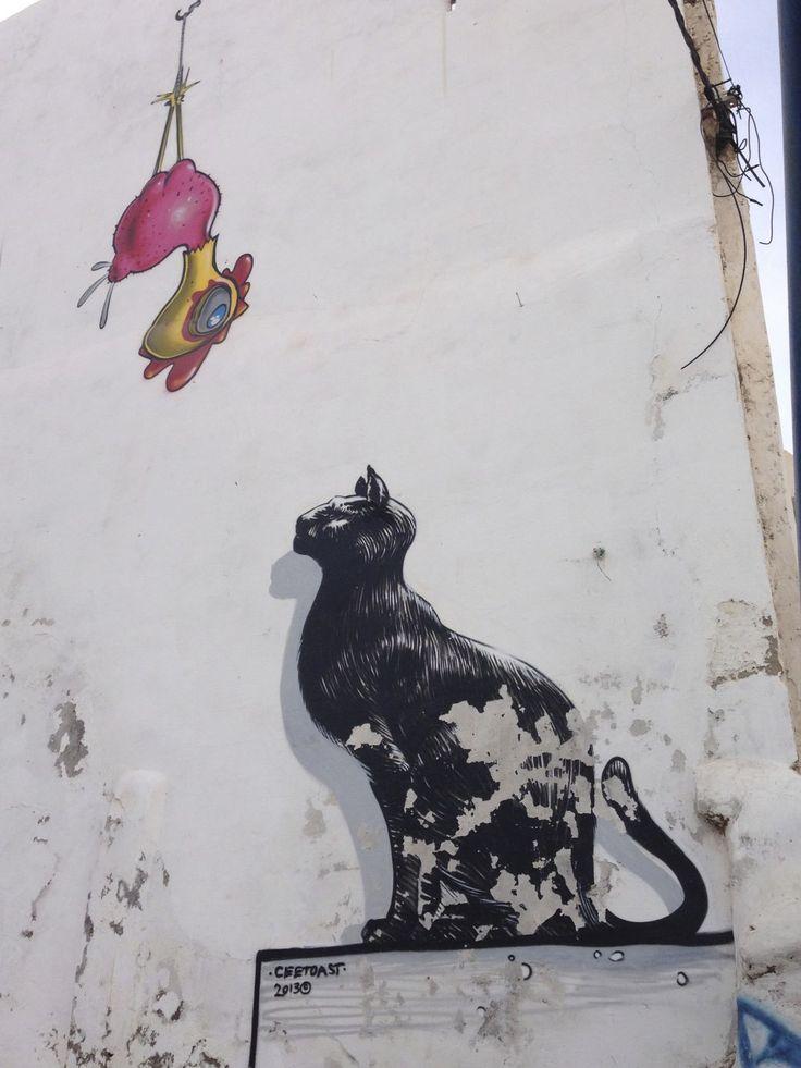 アシラのメディナ(旧市街)のアートフェスティバル <モロッコ観光・旅行おすすめ見所>