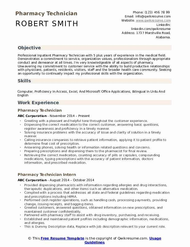 Pharmacy Tech Resume Example Inspirational Pharmacy Technician Resume Samples In 2020 Mechanical Engineer Resume Resume Examples Engineering Resume