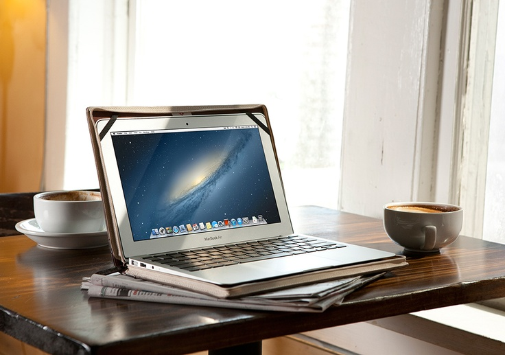 Why not work with MacBook inside BookBook? What a great way to write your first novel, hit movie or create your very own bestselling idea.