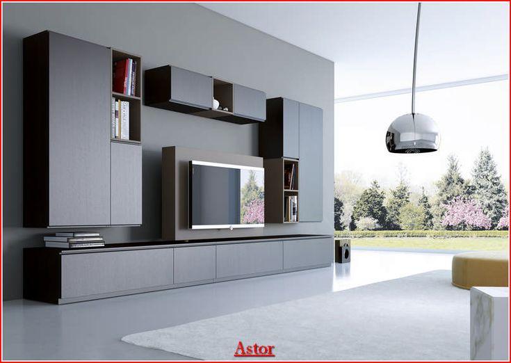 soggiorno moderno  - Con i mobili ASTOR si possono creare soluzioni per arredare il soggiorno, lo studio, l