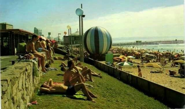 South beach in 50s
