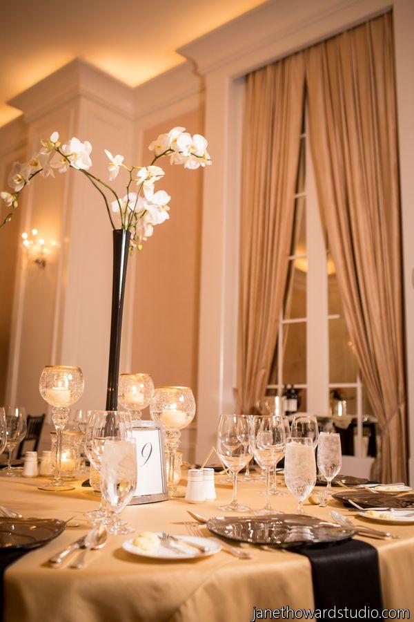 Chic Gold and Black Chanel Inspired Wedding in Atlanta - Munaluchi Bridal Magazine