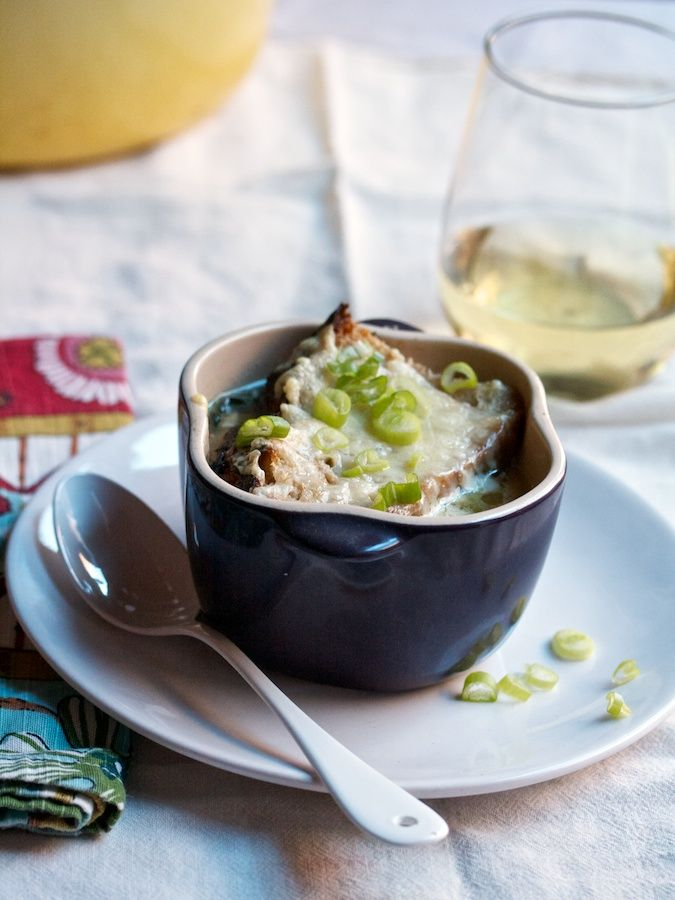 Caramelized Onion Soup with Roth Grand Cru | Big Girls Small Kitchen