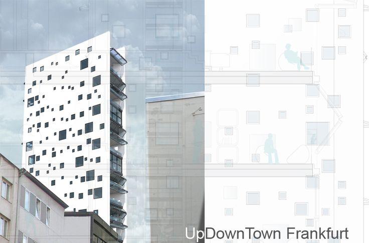 Abschlussarbeit: UpDownTown Frankfurt, Benjamin Zweig, Universität Kassel - Campus Masters | BauNetz.de