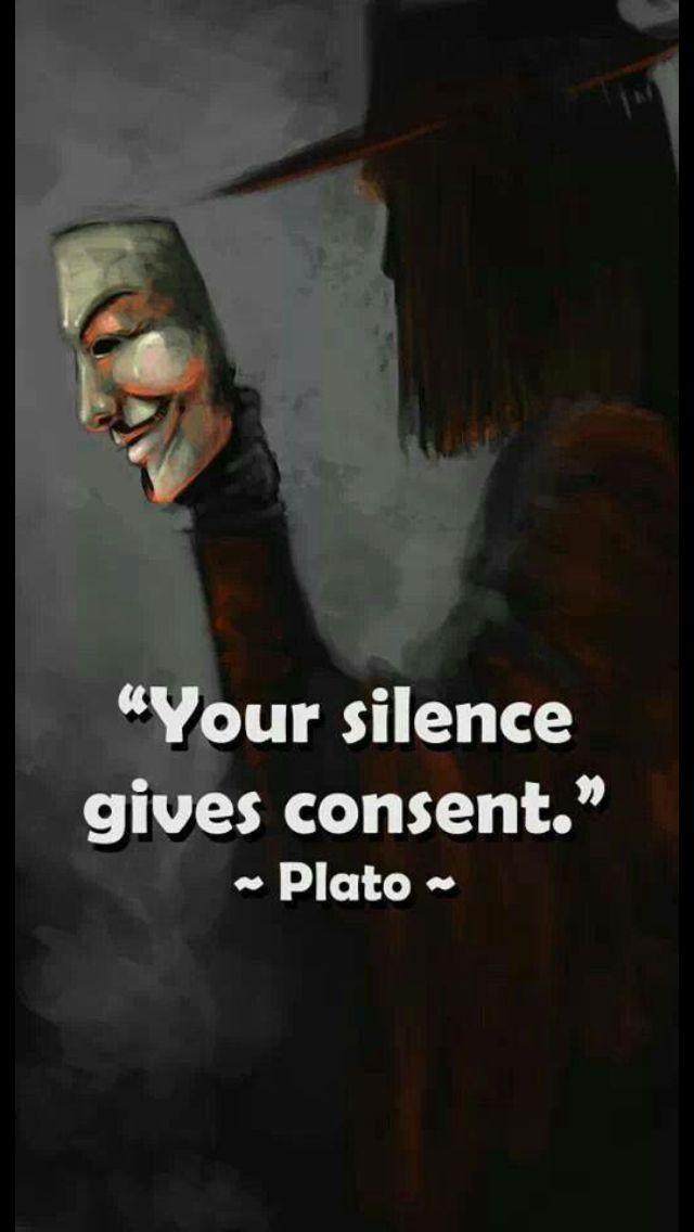 Speak out, speak up silent majority! !!