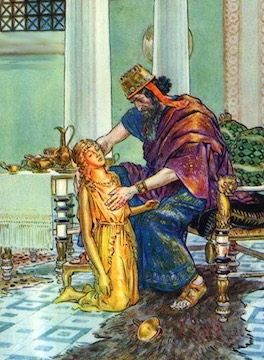 how did king midas die