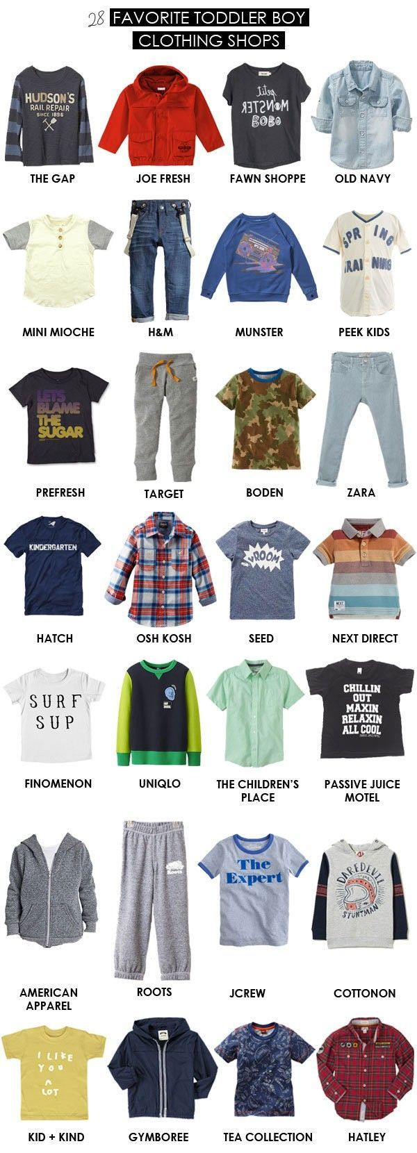 Clothing stores for teenage guys