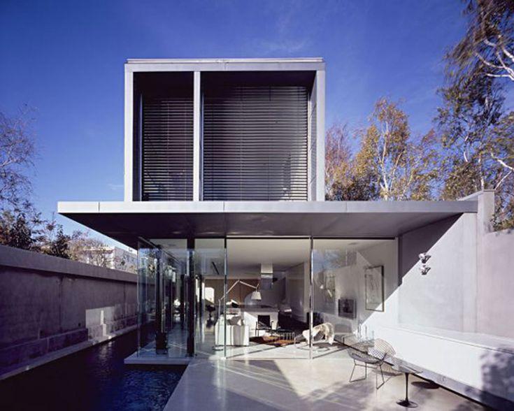 Modern Interior Design For A Contemporary Concrete House In Australia