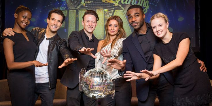 Strictly Come Dancing finalists Oti Mabuse, Danny Mac, Kevin Clifton, Louise Redknapp, Ore Oduba, Joanne Clifton