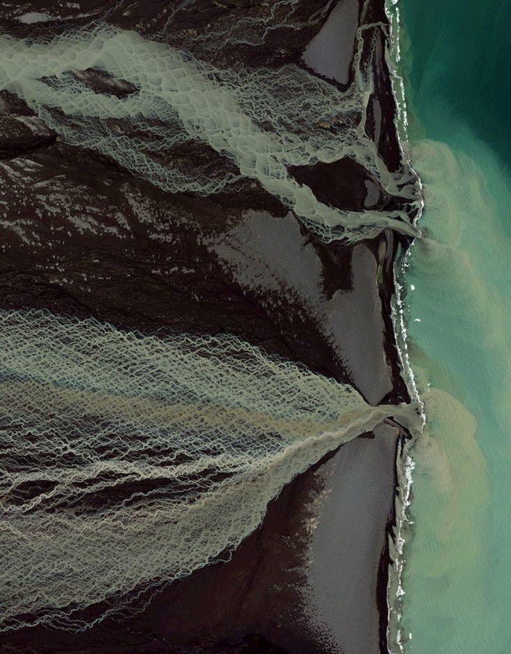 Glaciar deshaciéndose, Islandia.