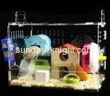 Custom acrylic reptile hamster cages tanks for sale PCK-006