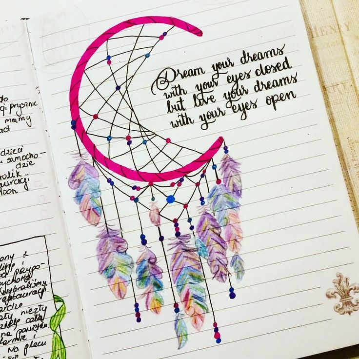 "345 Likes, 22 Comments - Дневники Личный Блог (@hollyrofferts) on Instagram: ""Dream #quotedapril2016 Love this quote. Btw this was a perfect time to finished my dream catcher.…"""