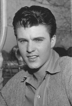 Ricky Nelson And Elvis Presley