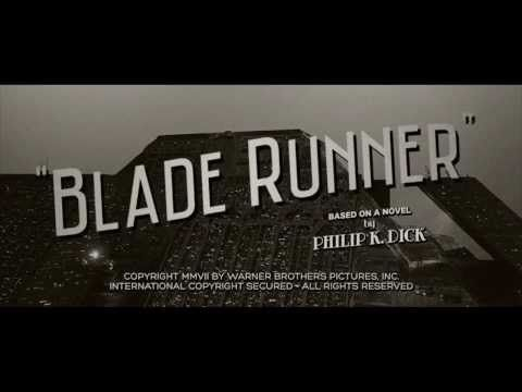 This trailer for Blade Runner as a 1940s noir film is genius