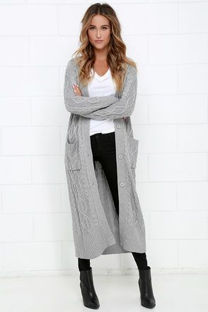 The 25  best Long cardigan outfits ideas on Pinterest | Cardigan ...