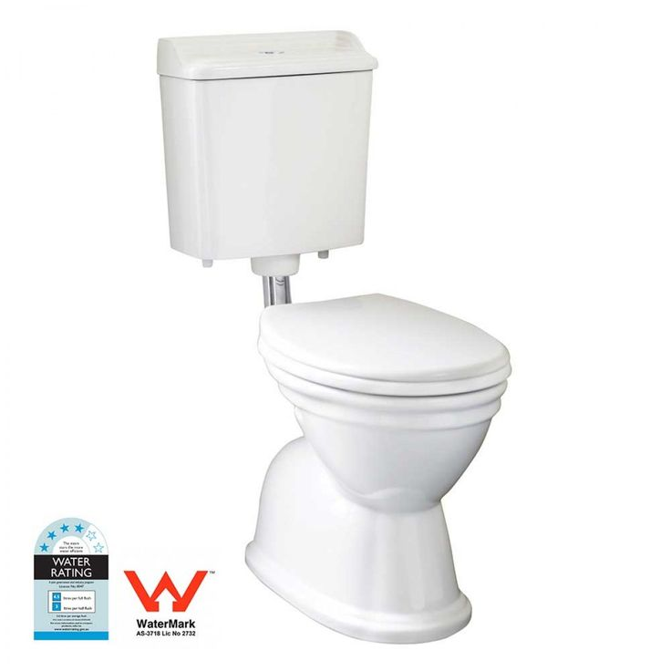 Victorian Toilet Suite with Chrome Fittings Package - Toilets - Bathroom
