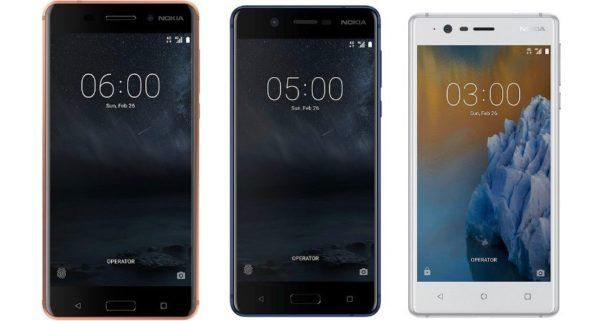 HMD Global launches Nokia 6, Nokia 5 and Nokia 3 Android phones in India