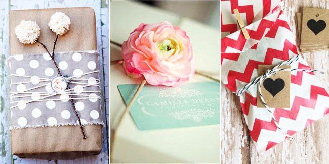 Fashion: 10 Ide Kreatif Membungkus Kado Cantik, Unik Dan Romantis | Vemale.com