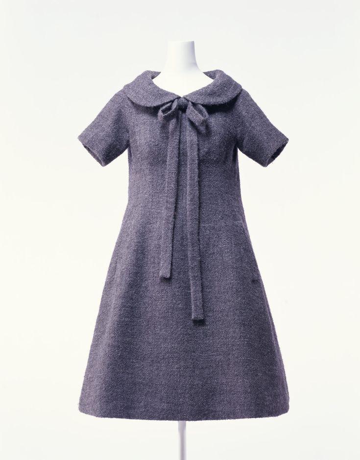 ドレス「トラペーズ」 クリスチャン・ディオール 1958年春夏