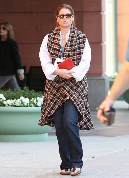 Debra Messing Photos: Debra Messing Hits Anastasia Salon