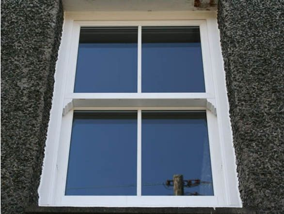 Vertical Sliding Sash uPVC Windows