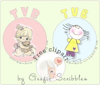 TVB Free download se vuoi dire a qualcuno TVB! http://graficscribbles.blogspot.it/2014/05/tvb-fre-download-amicia-clipart-gif-adesivi.html