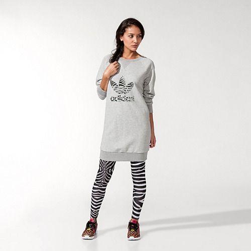 adidas Sweatshirt Dress