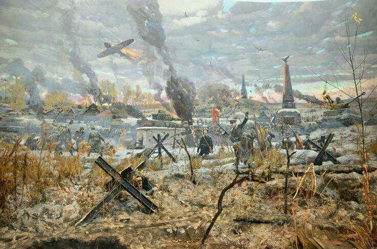 La batalla de Moscú en la WW2, por Pavel Ryzhenko