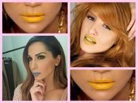 Ελληνίδες  celebrities φορούν κραγιόν σε ασυνήθιστα χρώματα! (φωτό)