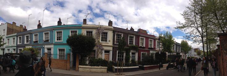 Portobello Road Pretty Houses